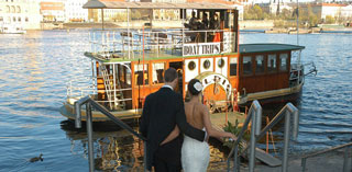 wedding in prague rivercruise